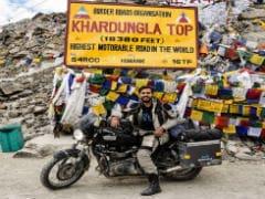 24 साल के राइडर ने बनाया बाइक चलाने में गिनीज़ वर्ल्ड रिकॉर्ड, घूमे 6 महाद्वीप और 36 देश