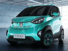 SAIC Launches Affordable Baojun E100 Urban Electric Car In China At Rs 3.4 lakh