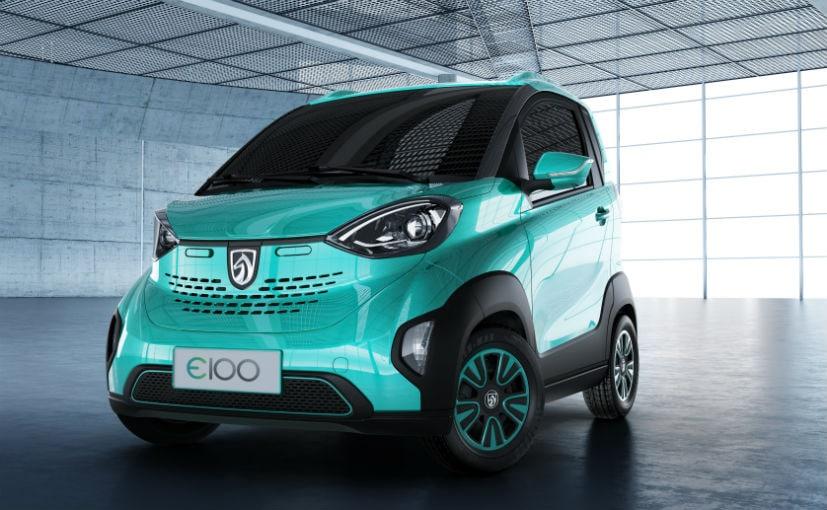 SAIC Launches Affordable Baojun E100 Urban Electric Car In China At Rs 3.4 lakh