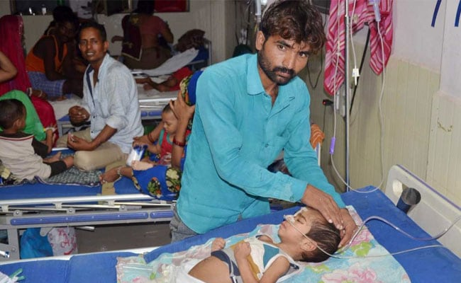 gorakhpur hospital child pti
