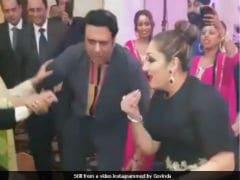 Govinda And Wife Sunita Dance To <i>Kisi Disco Mein Jaye</i>. Raveena, You Weren't Missed