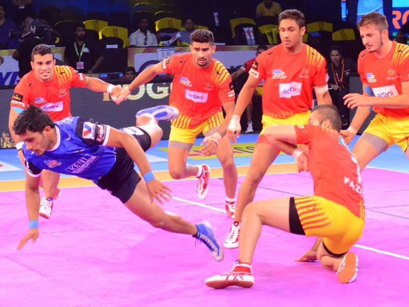 Pro Kabaddi League 2017: Haryana Steelers, Gujarat Fortunegiants Play Out Thrilling Tie