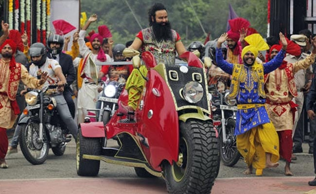 Image result for Ram Rahim Singh  Two states near shutdown