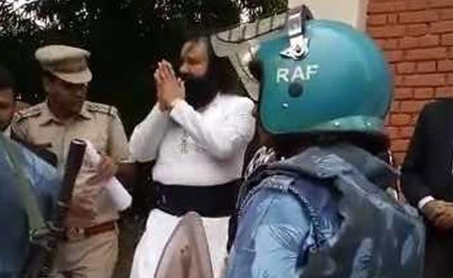 रेप मामले में दोषी गुरमीत राम रहीम को जेल में वीआईपी ट्रीटमेंट!