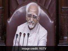 Parliamentarians Praise Outgoing Vice President Hamid Ansari's Role As Rajya Sabha Chairman