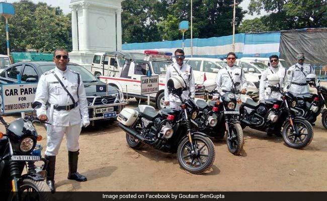 Kolkata police get Harley Davidsons