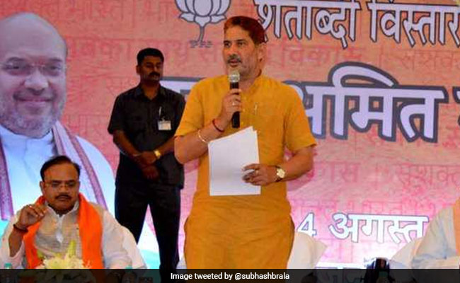 haryana bjp chief subhash barala twitter