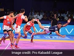 Pro Kabaddi League: Haryana Steelers Edge Dabang Delhi 27-25