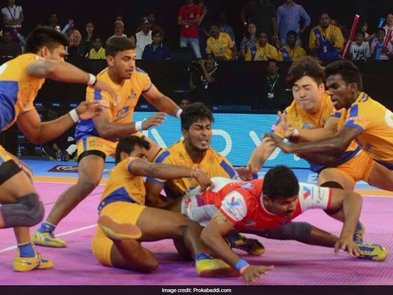 Pro Kabaddi League: Haryana Steelers, Tamil Thalaivas Play Out Thrilling Tie
