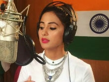 Trending: Hina Khan's Rendition Of <I>Vande Mataram</i> On Independence Day