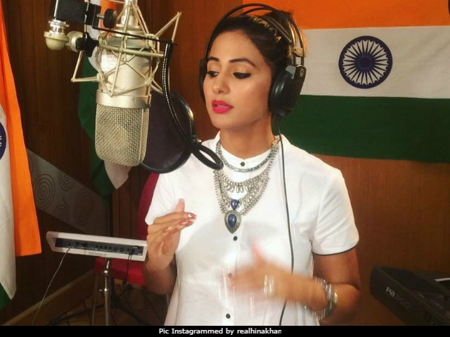 Trending: Hina Khan's Rendition Of Vande Mataram On Independence Day
