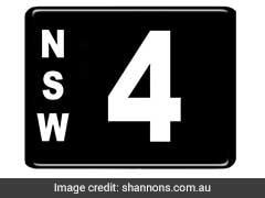 Australian Number Plate Sells For Record-Breaking $2.45 Million
