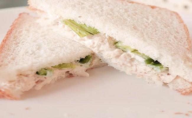 Homemade Chicken Sandwich