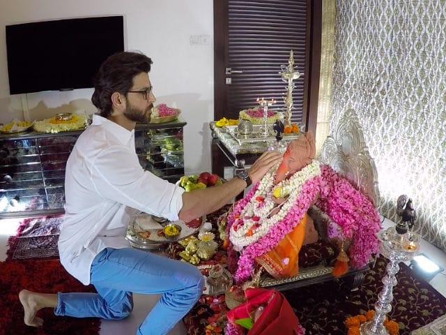 Ganesh Chaturthi 2017: Hrithik Roshan Brings Bappa Home. See Exclusive Pics