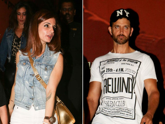 Hrithik Roshan And Sussanne Khan Spotted On A Movie Date With Sons
