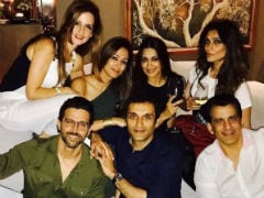 Hrithik Roshan And Sussanne Khan Party Together, Again. See Pic