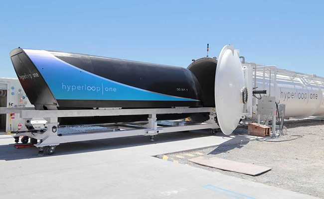 AP Hits the Bulls Eye -Gets India's First Hyperloop!