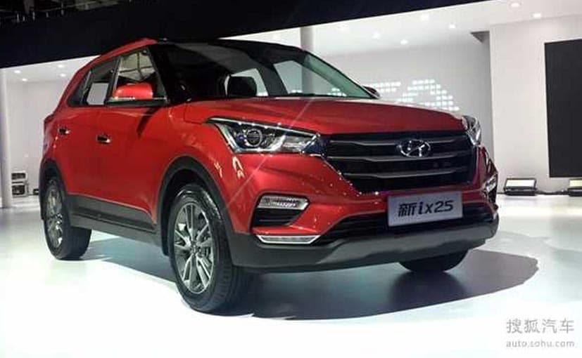 The Creta competes with Honda BR-V, Renault Duster, Maruti Suzuki S-Cross and Jeep Compass in India.