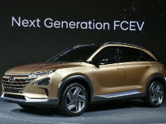 Hyundai Showcases Fuel Cell SUV Concept