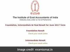 ICWAI June 2017 Foundation, Inter, Final Exams Results Declared @ Examicmai.In, Examicmai.org