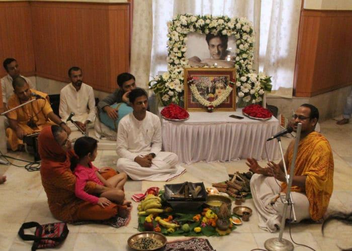 inder kumar prayer meet ndtv