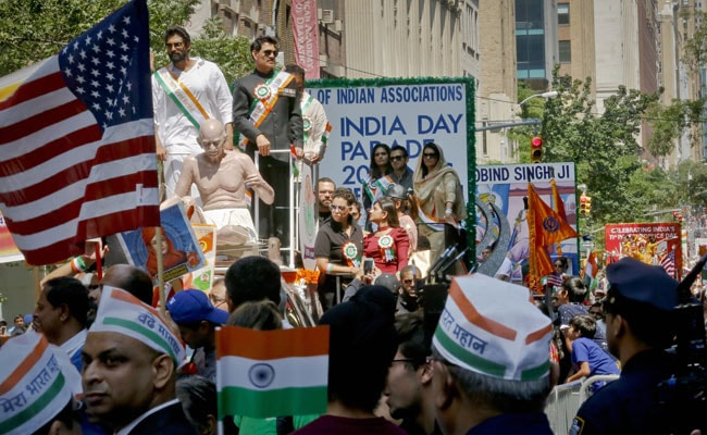Thousands Celebrate At India Day Parade In New York