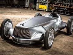 Infiniti Reveals Electric Retro-Roadster Prototype 9 At Pebble Beach