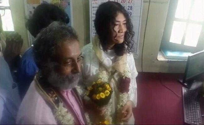 Rights Activist Irom Sharmila Marries Long-Time Partner Desmond Coutinho