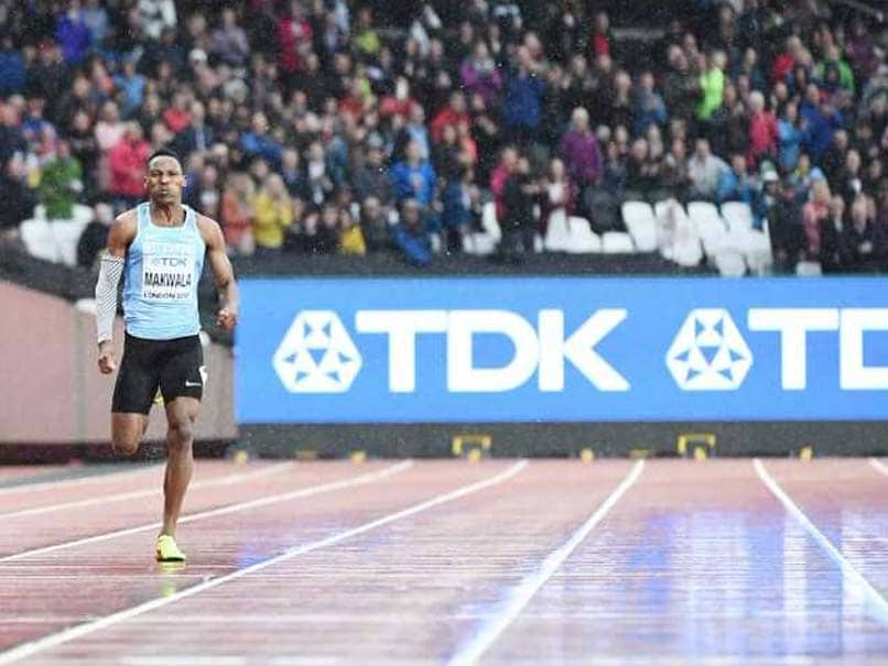 Athlete Runs Track Race With No Rivals In Sight