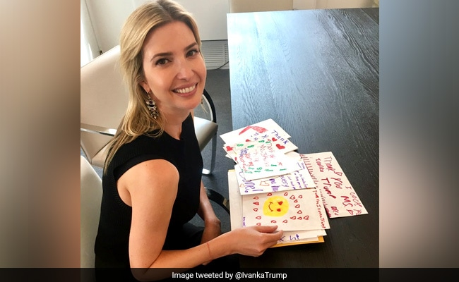 Ivanka Trump Posts Pics Of Fan Mail, Mocked Relentlessly For It