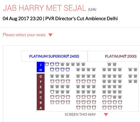 jab harry met sejal ticket