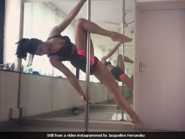Jacqueline Fernandez Revives A Gentleman Pole Dance Gig In New Insta Post