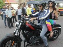 Sidharth Malhotra Took Jacqueline Fernandez On A Bike Ride Like <i>A Gentleman</i>