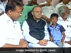 'Meet Us Too', Say CPM Workers' Relatives As Arun Jaitley Visits RSS Worker's Home