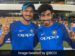 Watch How Axar Patel Fared Against Jasprit Bumrah's Verbal Yorkers