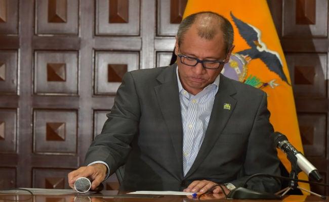 Ecuador's President Lenin Moreno Strips Vice President Jorge Glas Of All Functions