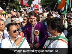 Justin Trudeau Goes <i>Desi</i>, Wears <i>Kurta</i> At India Day Parade. See Pics
