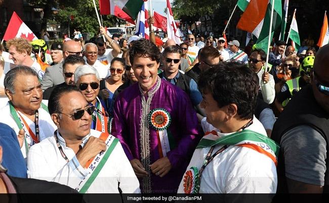 Justin Trudeau Goes Desi, Wears Kurta At India Day Parade. See Pics