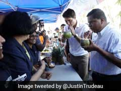 '<i>Vanakkam</i>!' Tweets Justin Trudeau After Attending A Tamil Street Fest In Canada
