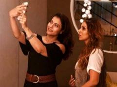Kajol Drops By Gauri Khan's Store, Pictured Taking A Selfie