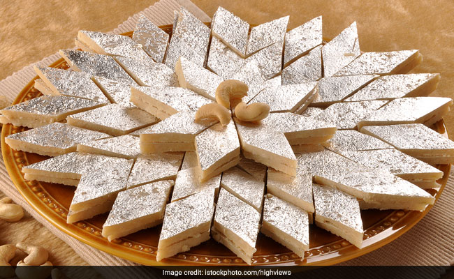 Image result for kaju katli