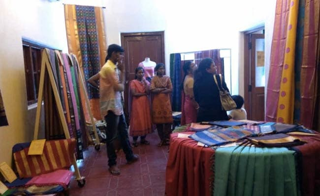 Exhibition In Chennai Strives To Revive Dying Tradition Of Kancheepuram Saris