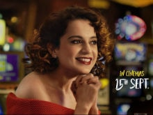 <i>Simran</i> New Poster: See Kangana Ranaut's 'Indefatigable Spirit'