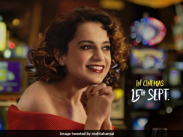 Kangana Ranaut launches trailer of Simran at an event