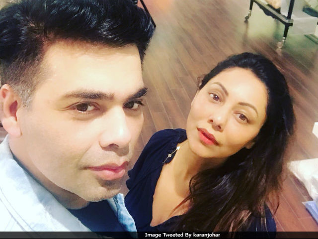 When Karan Johar Dropped By Gauri Khan's New Store. See Pic