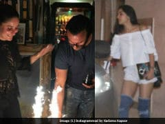 Saif Ali Khan's Birthday Party: Kareena Kapoor's Nude Lips, Sara's Denim Boots. Soon To Trend?