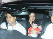 Swiss-Returned Taimur Ali Khan Visits Grandmother Babita With Mom Kareena Kapoor