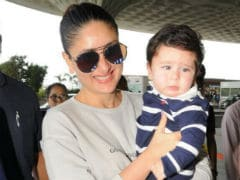 For Once, Kareena Kapoor's Son Taimur Had No Smile For The Paparazzi. See Pics