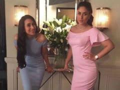 Sisters Kareena And Karisma Kapoor Shoot Together. See Pic