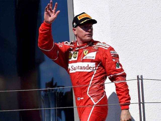 Kimi Raikkonen Signs New Ferrari Deal For 2018